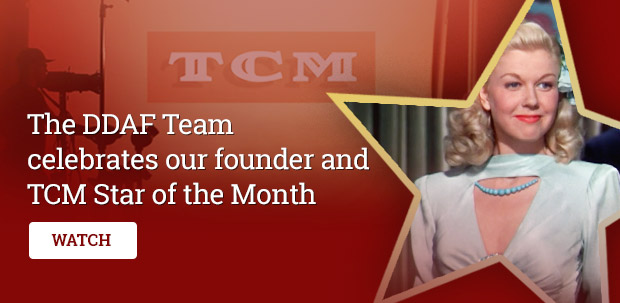 The DDAF Team celebrates our founder and TCM Star of the Month