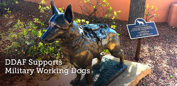 DDAF supports Military Working Dogs