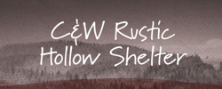 C&W Rustic Hollow Shelter